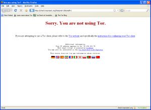 Tor prehliadač