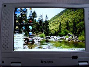imos wireless book Windows CE - Start Menu