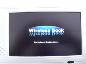 imos wireless book Windows CE - shutding down