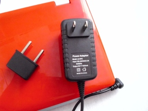 imos wireless book - US adapter with EU plug reduction