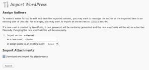 Importovanie obsahu blogu s prílohami (obrázkami)