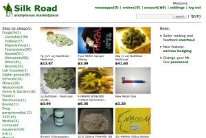 Silk road - úvodná stránka
